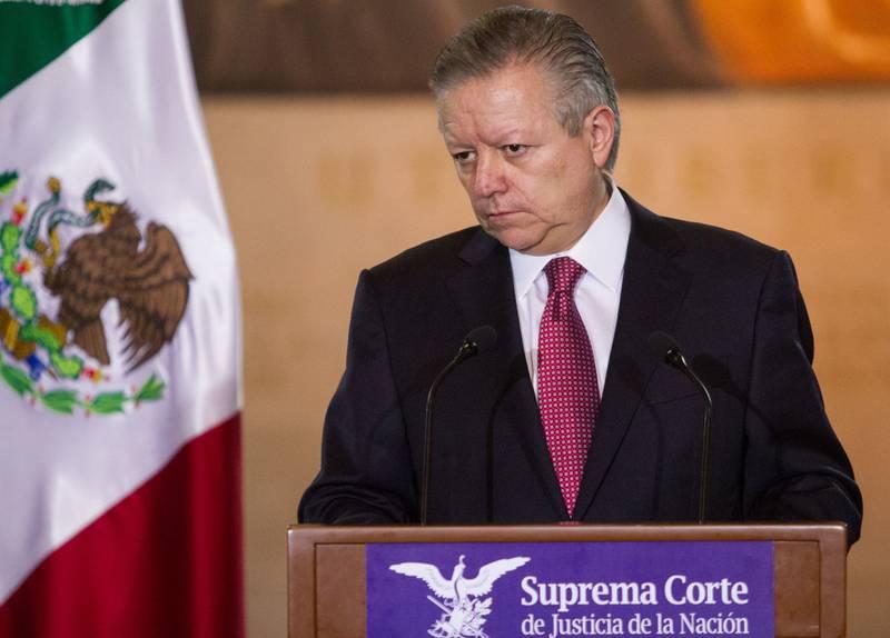 Arturo Zaldívar, magistrado presidente de la Suprema Corte de Justicia de la Nación.