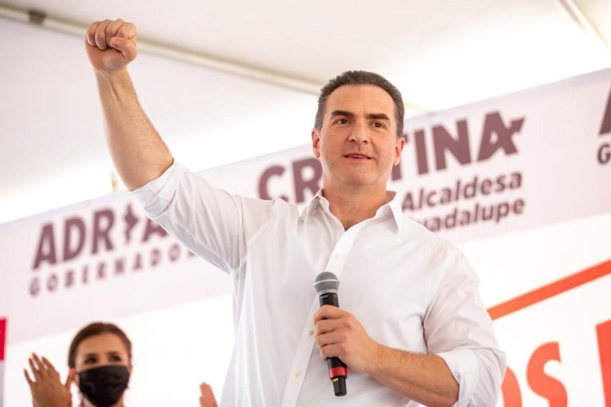 Ganamos la elección en Nuevo León; Adrián de la Garza canta victoria