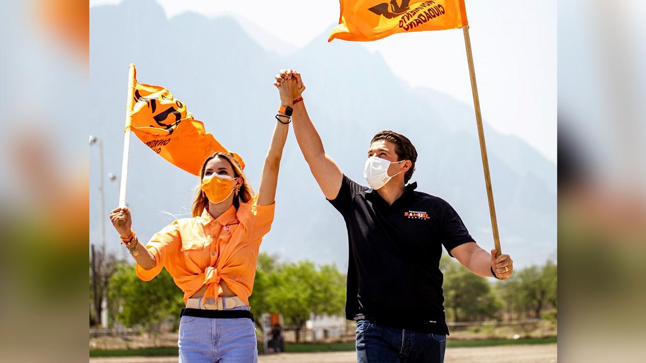 Ganamos la gubernatura, ganamos Monterrey; celebra Samuel García su triunfo en Nuevo León