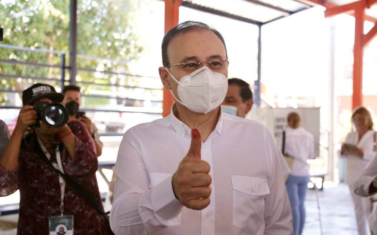 Lo más importante es el futuro de Sonora: Alfonso Durazo tras acudir a las casillas