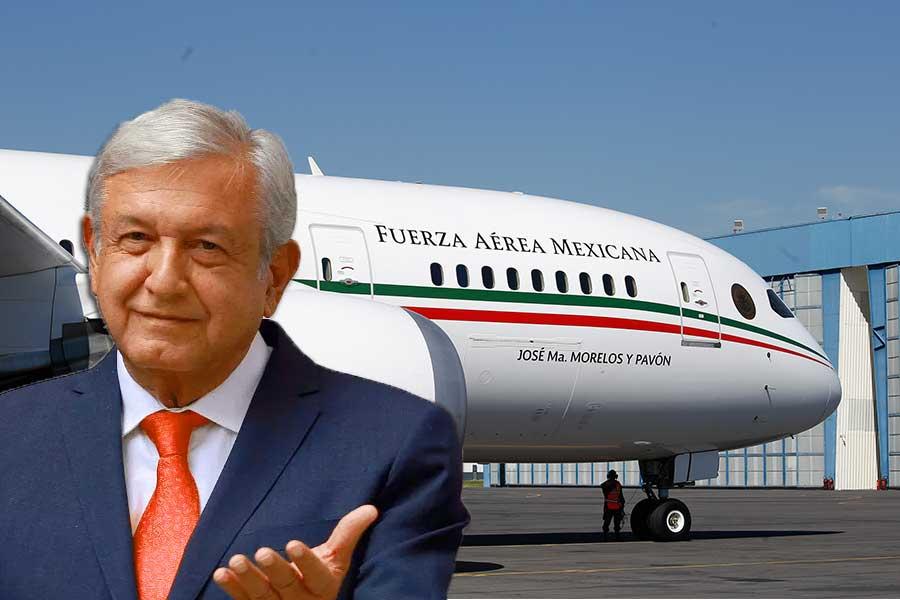 Nos ahorramos muchísimo por no usarlo; presume AMLO sobre el avión presidencial