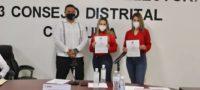Recibe Cristina Amezcua constancia de mayoría como Diputada Federal Electa