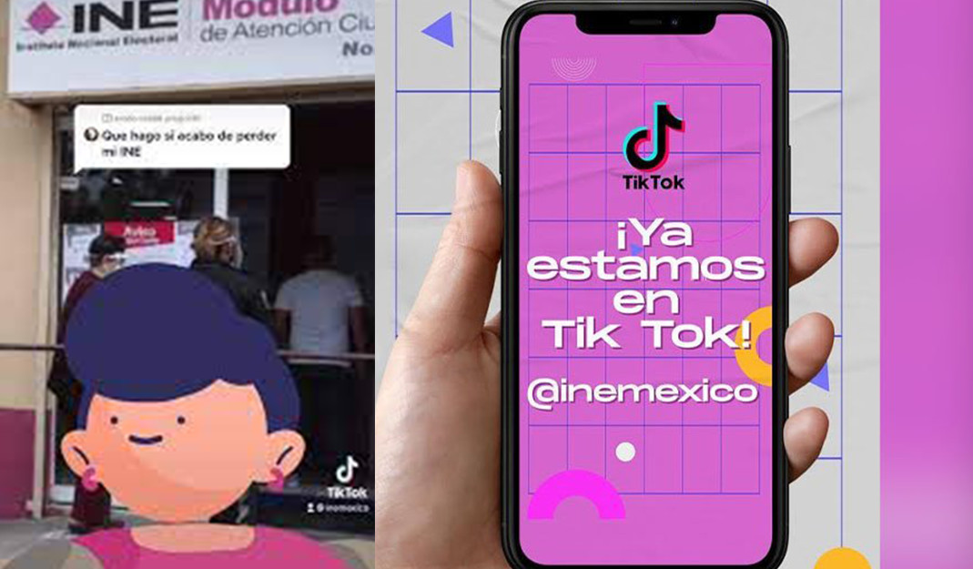 Candidatos e INE se aventuran en TikTok previo a elecciones históricas en México