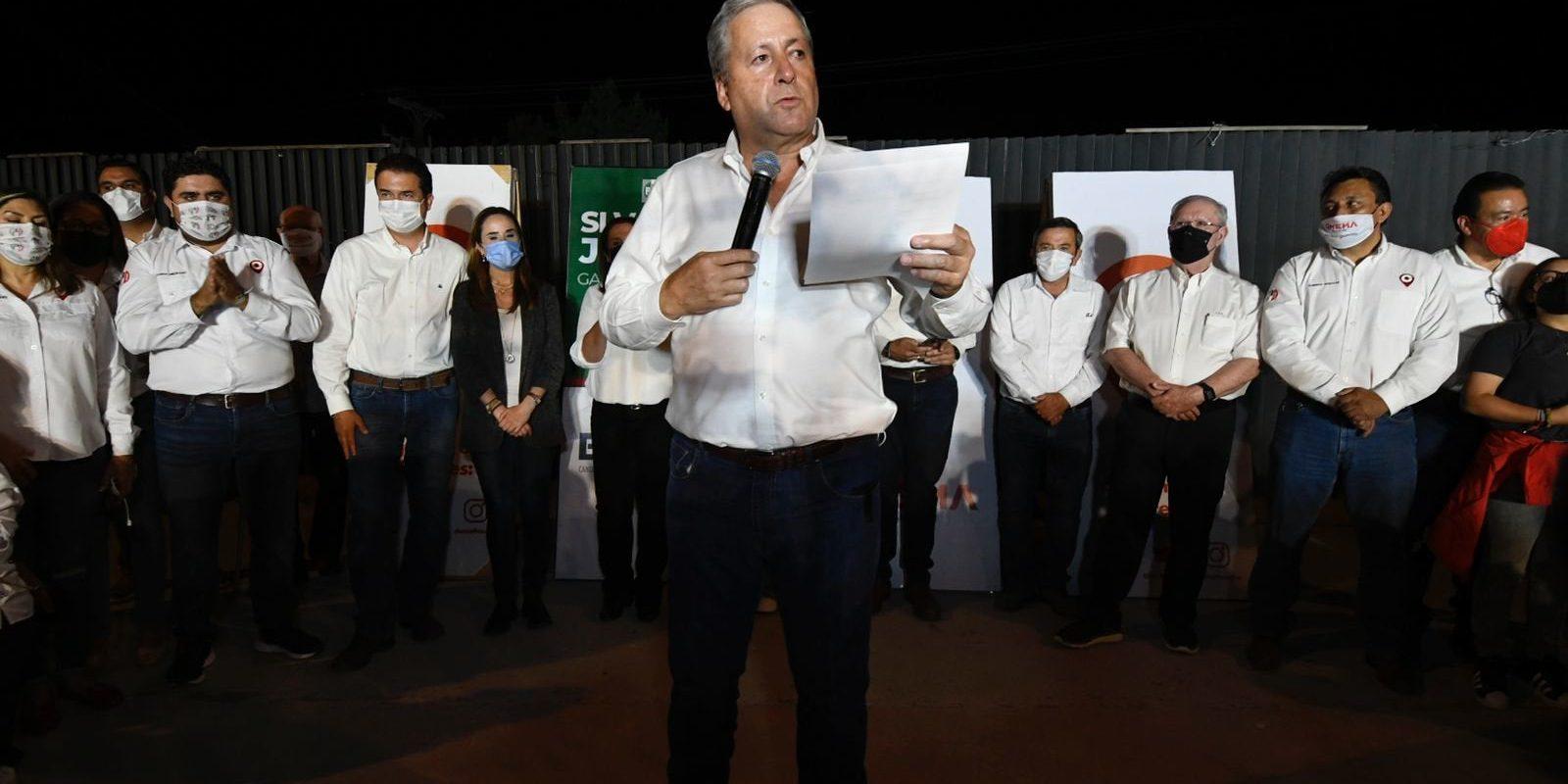 PRI celebra virtual victoria de Chema Fraustro, Jericó y Jaime Bueno en Saltillo