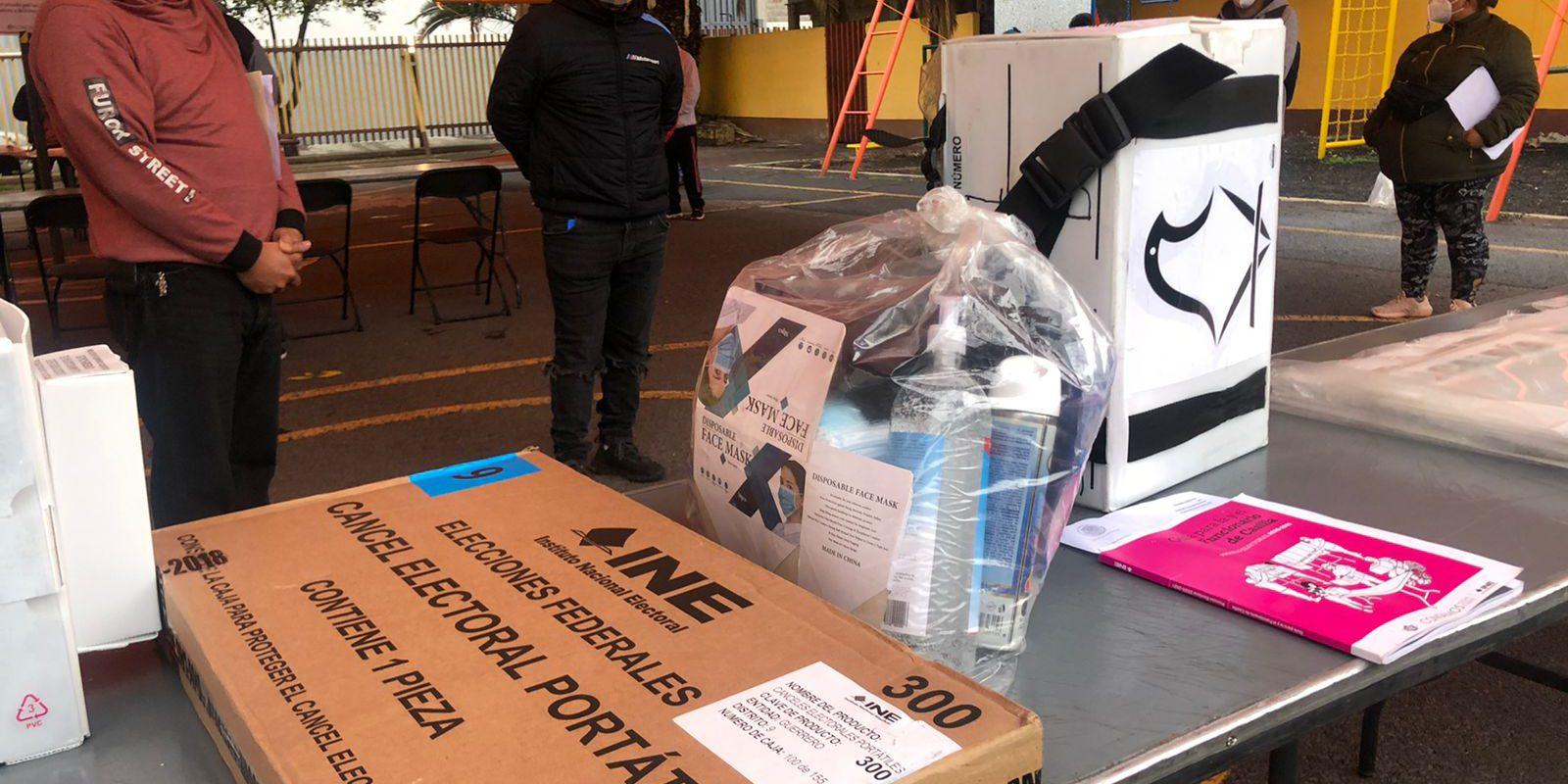 INE anula casi 300 boletas en Oaxaca tras robo
