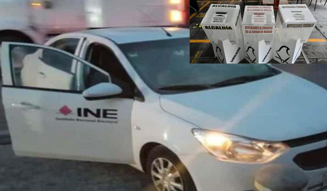 Acribillan a trabajador del INE tras intento de robo de un paquete electoral