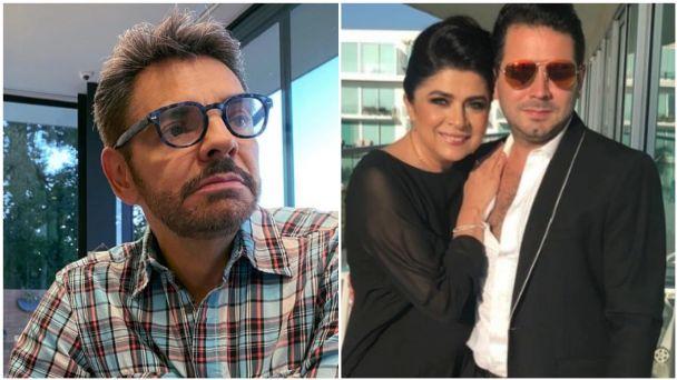 Eduardo Derbez prefiere que Victoria Ruffo y Eugenio Derbez no se hablen