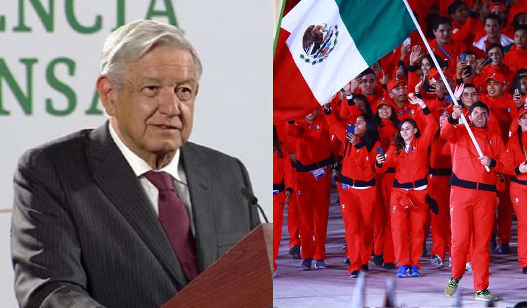 AMLO les dará su bendición; confirma apoyo y reunión con atletas de México en Juegos Olímpicos