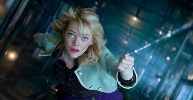 Emma Stone, personificó a Gwen Stacy en las dos anteriores películas
