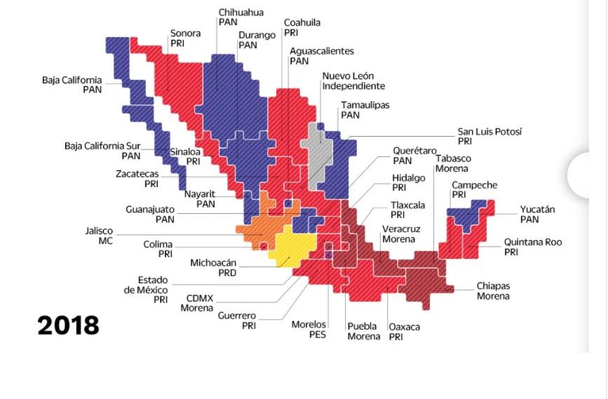 En la Cámara de Diputados nada más ganamos 185 de 300 distritos