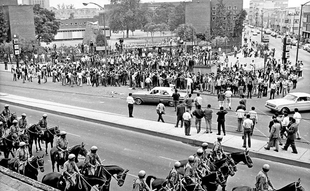 50 años de la represión de que fueron objeto estudiantes del IPN y de la UNAM