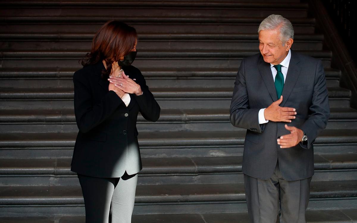 Es muy amiga de México; fue todo un éxito reunión de AMLO con Kamala Harris