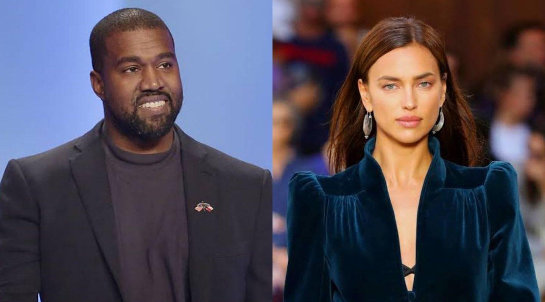 Irina Shayk y Kanye West son captados en romántico paseo