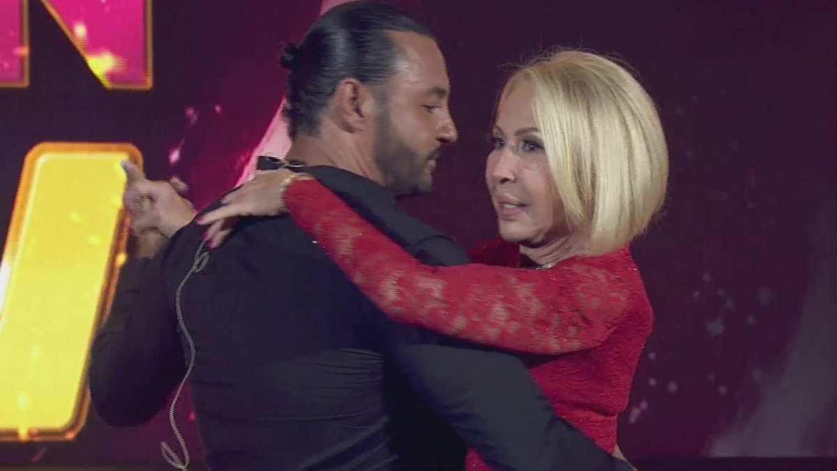 Latin Lover besó a Laura Bozzo en televisión nacional