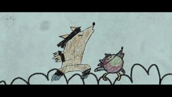 El trabajo de Garibay puede verse actualmente en la cinta Los lobos