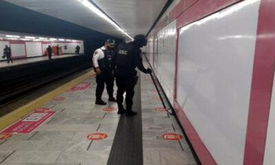 Se descarta potencial explosivo en central del metro de CDMX