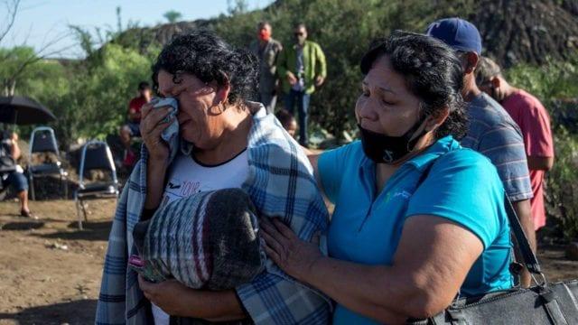 No perdemos la fe aunque esperanzas son mínimas: familiares de mineros de Múzquiz