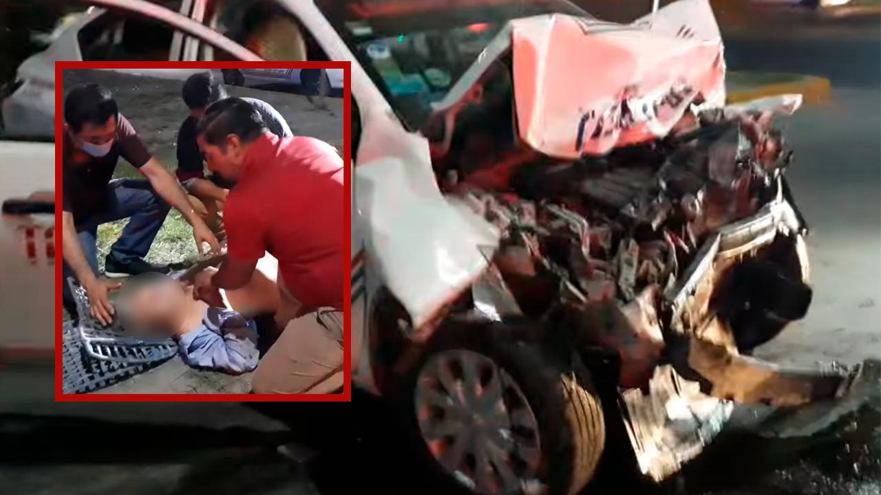 Policiaca: Chocan a taxista y fallece en hospital; fuerte accidente vial en Monclova