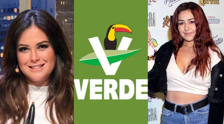 Mariana Echeverría y Romina Marcos piden disculpas por propaganda al Partido Verde