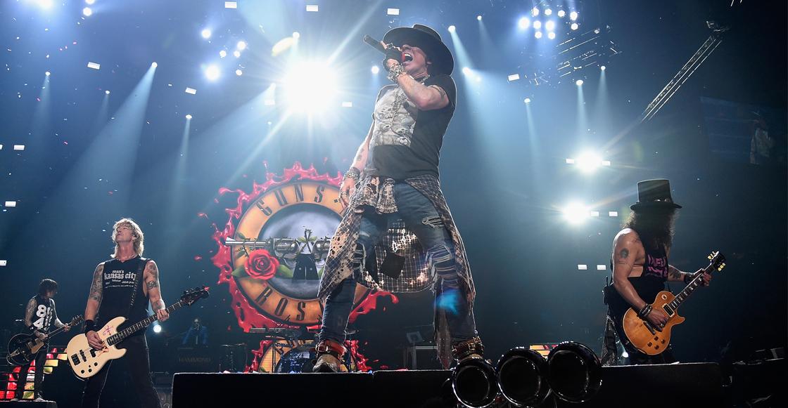 ¿Guns N' Roses vuelve a México? Guadalajara rechaza eventos masivos tras alza de COVID