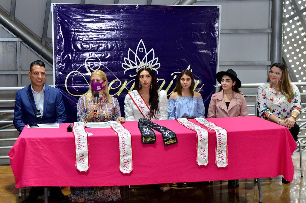 Anuncian gran semifinal de 'Señorita Estado De Coahuila'