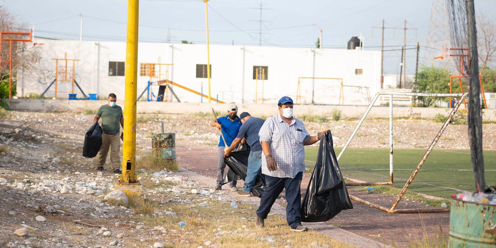 Rehabilitarán campo de futbol de la Garibay