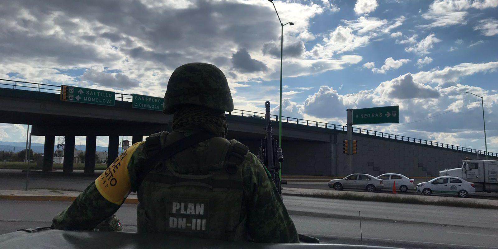 Guardia Nacional reforzará vigilancia en carreteras de Coahuila ante hechos delictivos