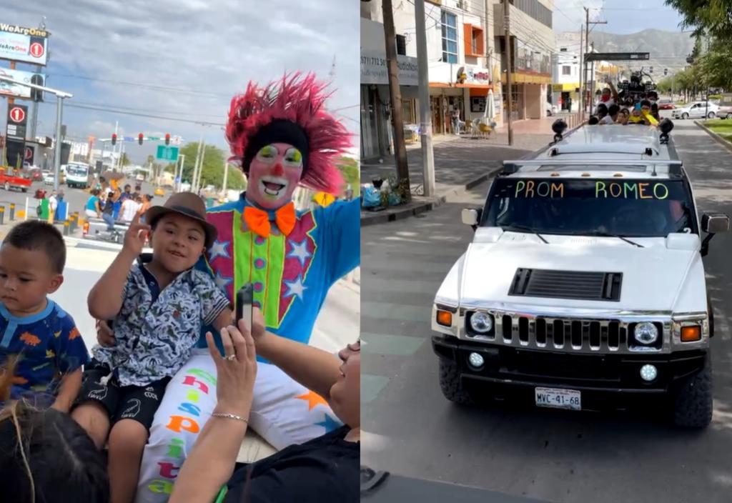 ¡Felicidades, Romeo!; celebran con caravana a niño con síndrome de Down en Torreón