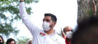 Ramiro Durán, accesible y apoyando a los arteaguenses