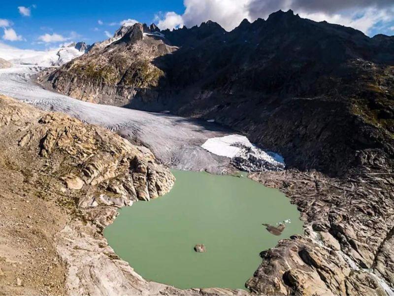 Deshielo a punto de acabar con glaciares en Suiza