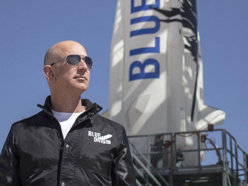 La última frontera en la mira de Jeff Bezos