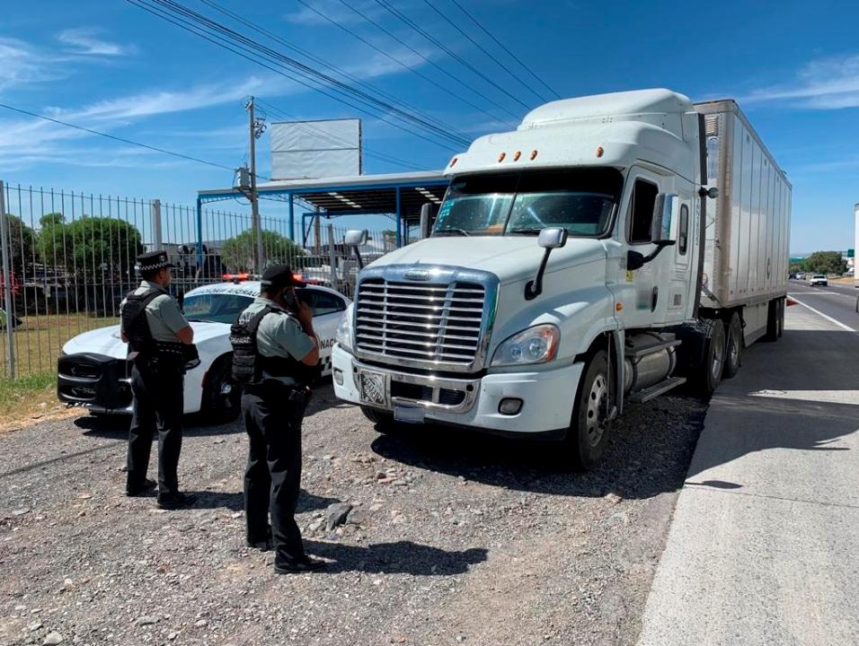 Va FGE contra asaltantes de autotransporte de carga