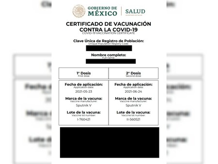 Se prevé mostrar certificado de vacunación covid-19 para ingresar a restaurantes
