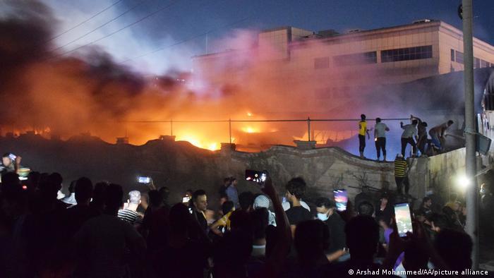rebaja los muertos en incendio en hospital de covid-19 a 60