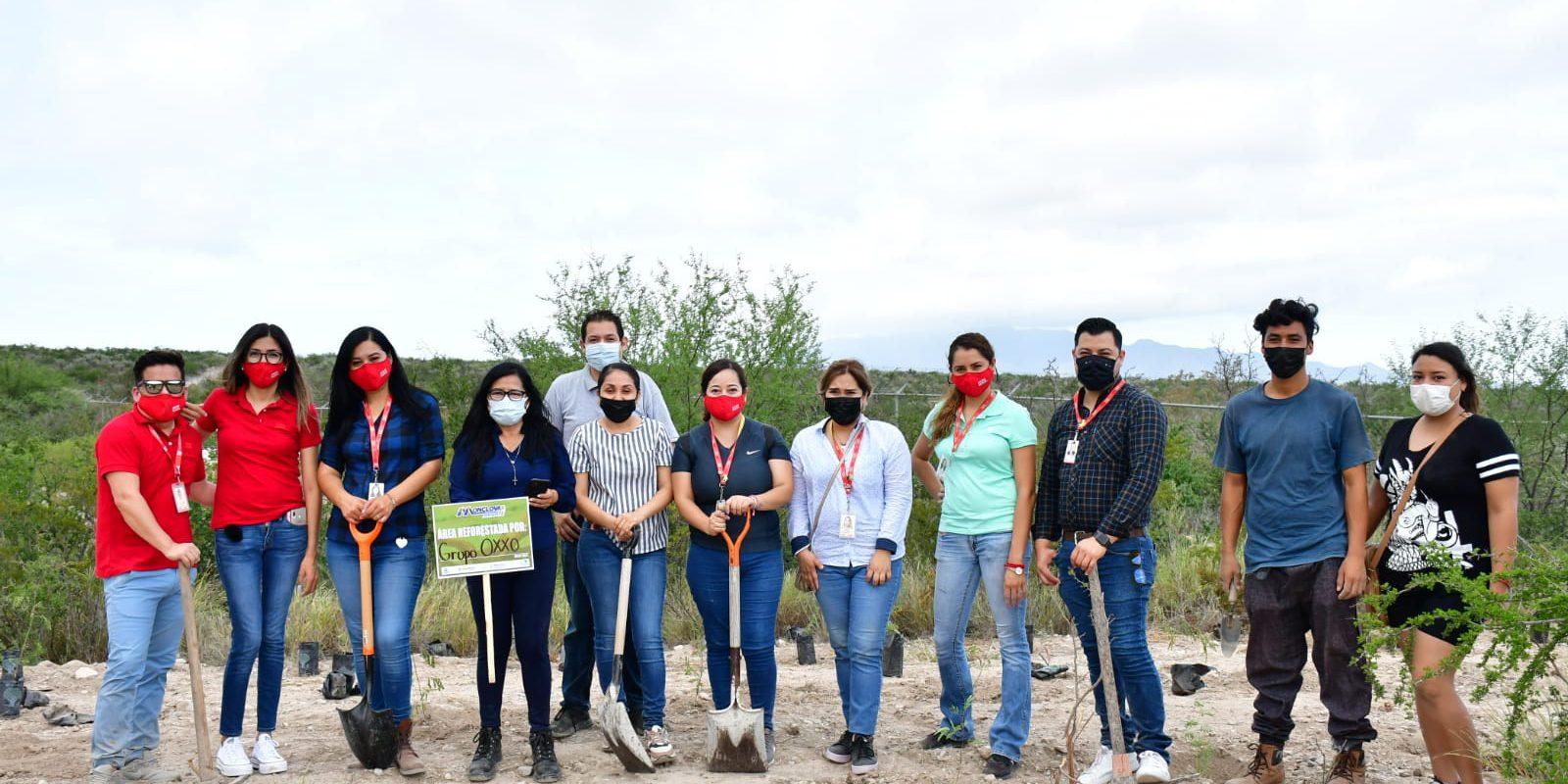 Reforestación del Ecoparque Monclova todo un éxito