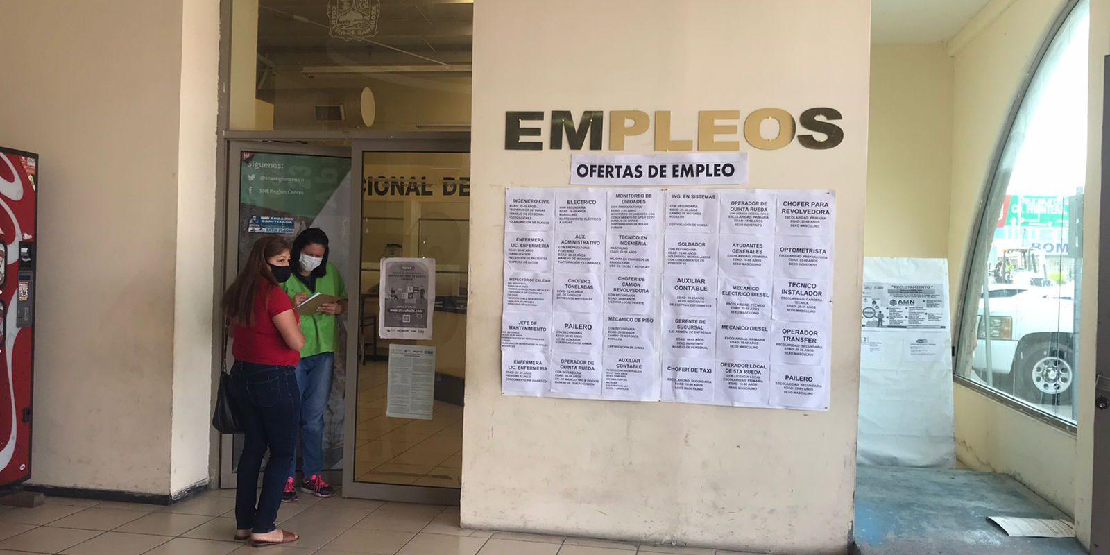 ¡Trabajo si hay!…oferta oficina regional del empleo 25 vacantes en Monclova