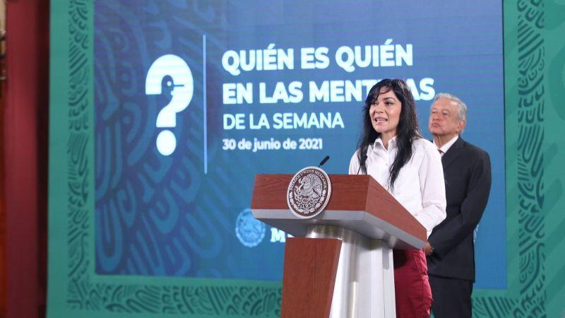 En el 'Quién es quién en las mentiras' no se censura ni estigmatiza a periodistas, asegura García Vilchis
