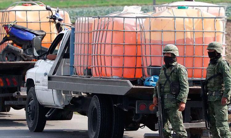 En junio, SEDENA detectó 803 tomas clandestinas; recuperó más de 10 millones de litros de huachicol