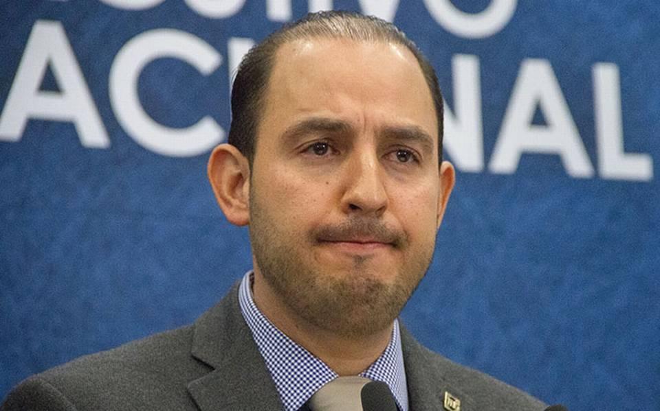 Ningún riesgo: Marko Cortés afirma que el PAN no perderá su registro ante el INE