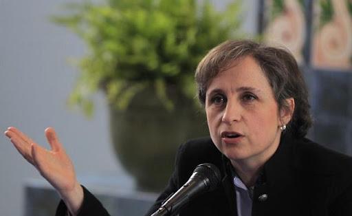 Soy víctima, no testigo: Carmen Aristegui tras comunicado de FGR por caso Pegasus