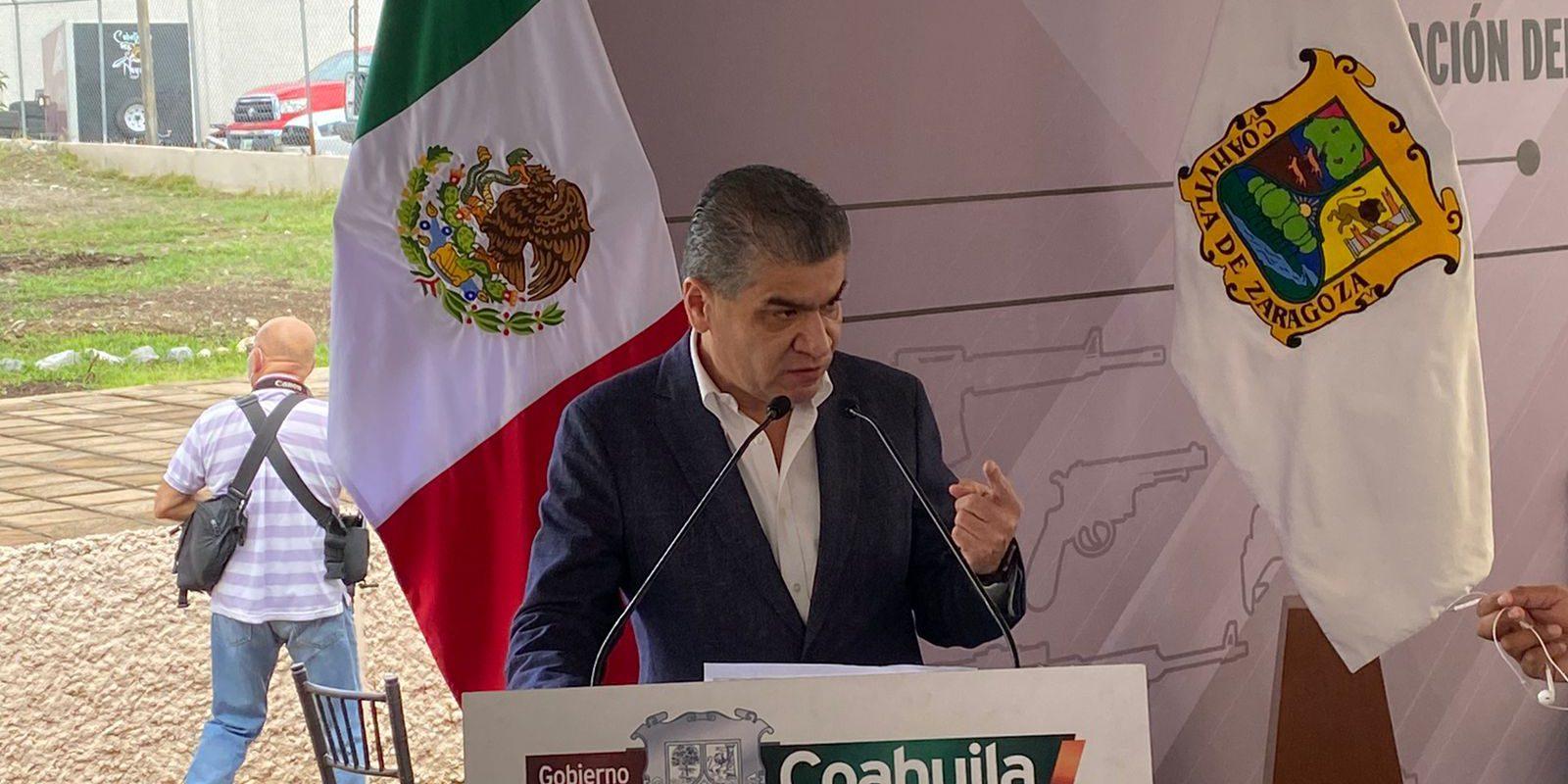 Se invierten mil millones de pesos en materia de seguridad en Coahuila
