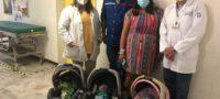 Nacen trillizos en HGZ No. 11 de Piedras Negras