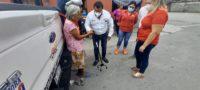 Ante la falta de recursos para adquirir un aparato de asistencia de movilidad, una de la tercera edad, habitante de la colonia Borja, fue apoyada por la Confederación Revolucionaria de Obreros y Campesinos en la región centro.