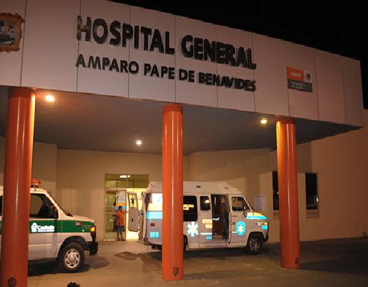 Aumentan los fines de semana los ingresos al área de urgencias de lesionados por accidentes y riñas en el Hospital Amparo de Monclova
