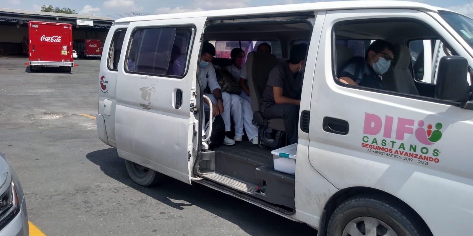 Colabora Ayuntamiento de Castaños en jornada de vacunación empresarial