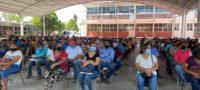 Aplican segunda dosis de vacuna AntiCovid-19 a sector 40-49 en Castaños