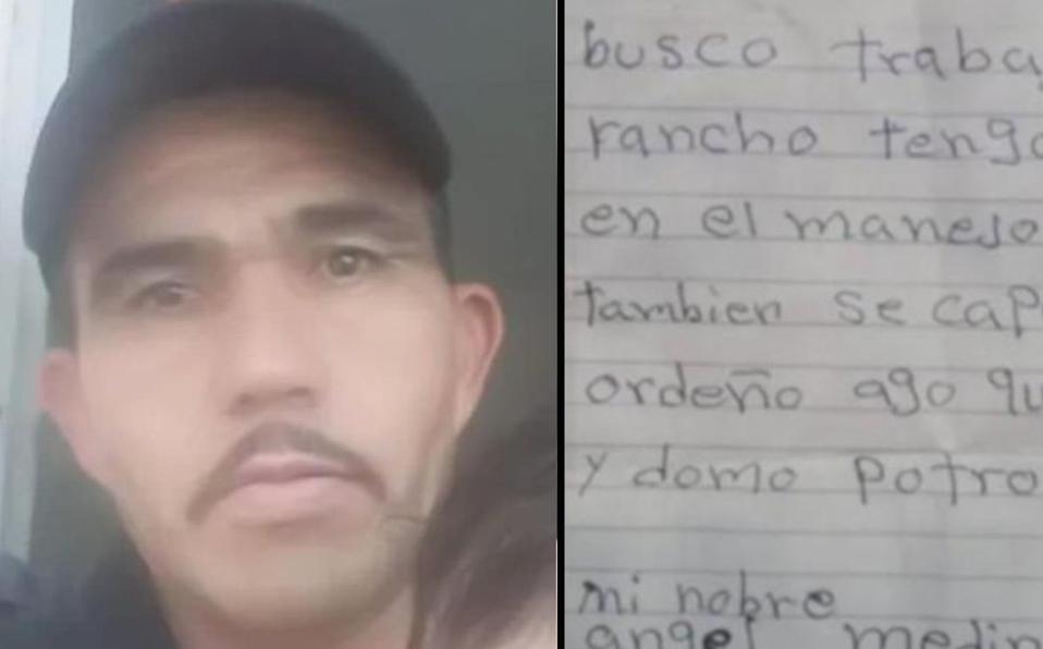 ¡Orgullo mexicano! Ofrecen 30 empleos a Ángel; hizo su currículum a lápiz y se volvió viral