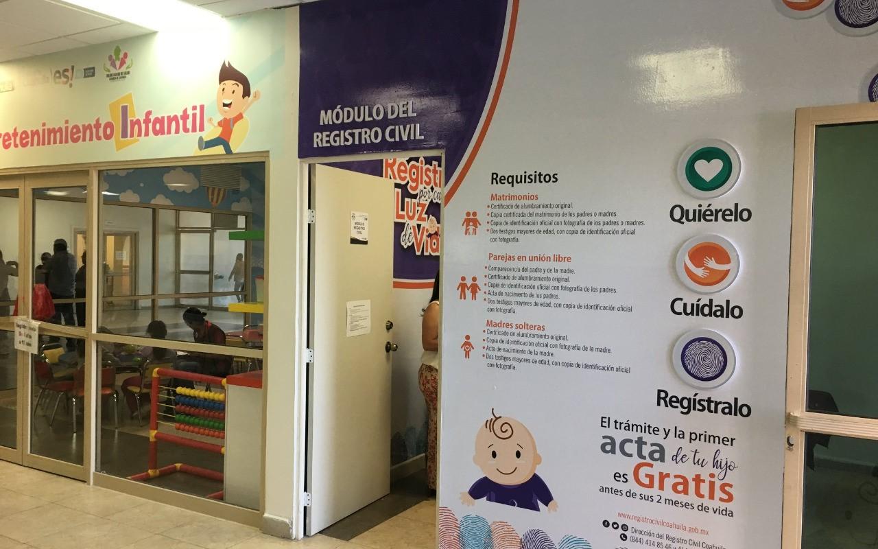 Registro Civil en Coahuila