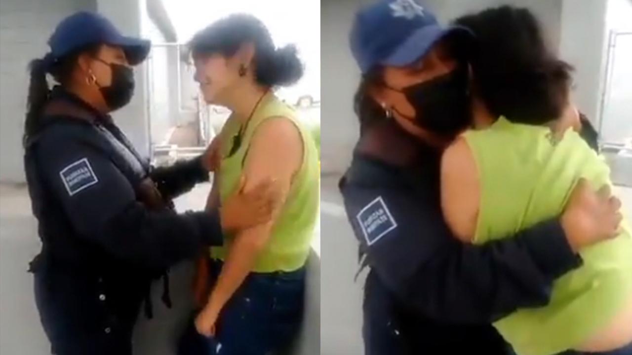 ¡Yo te voy a ayudar!: joven quería suicidarse y policía le salva la vida en Saltillo