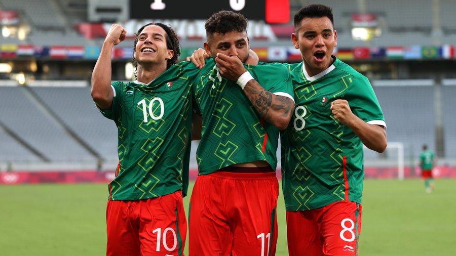 México arrasa en su debut de Juegos Olímpicos